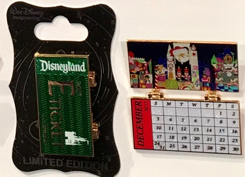 WDI 2017 Calendar Pin – it's a small world Holiday
