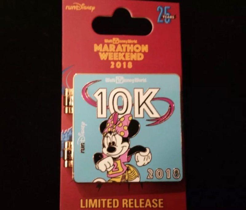10K Minnie Pin