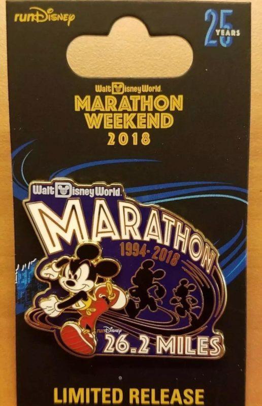 26.2 Marathon Pin