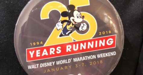 25th Anniversary RunDisney Button