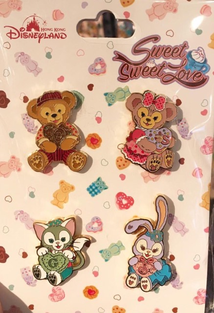 Duffy And Friends Valentines Day 2018 Pins Disney Pins Blog