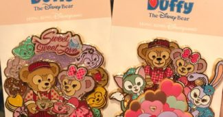 Valentine's Day Duffy and Friends Pins 2018