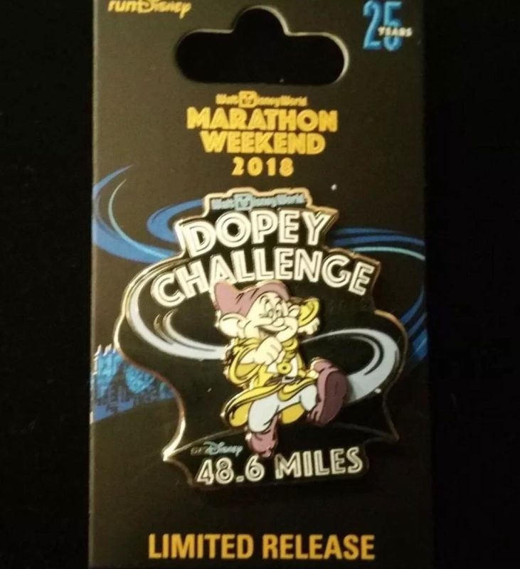 48.6 Dopey Challenge Pin