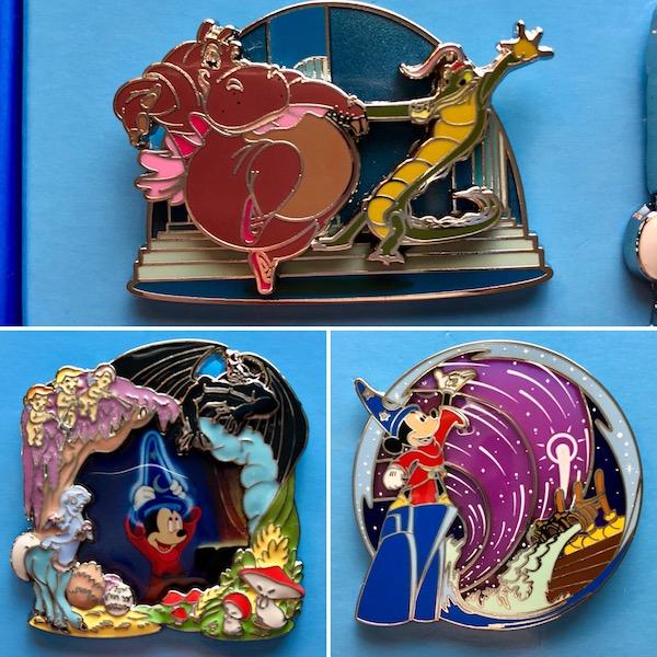 Disney Park Pack Fantasia Pins