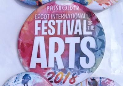 Epcot Art 2018 Buttons