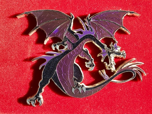 Maleficent Dragon ACME Pin