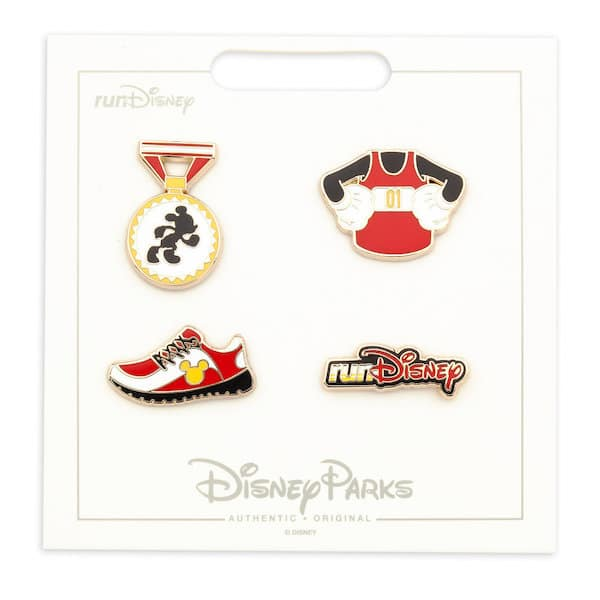 Mickey Mouse runDisney Pin Set