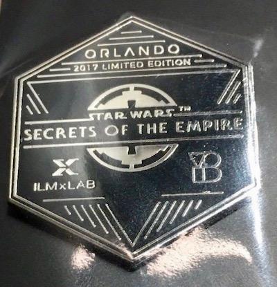 Orlando Secrets of the Empire Pin