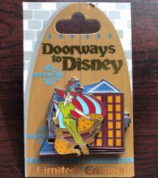 Peter Pan Doorways to Disney Pin