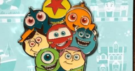 Pixar Playtime Tokyo Pin