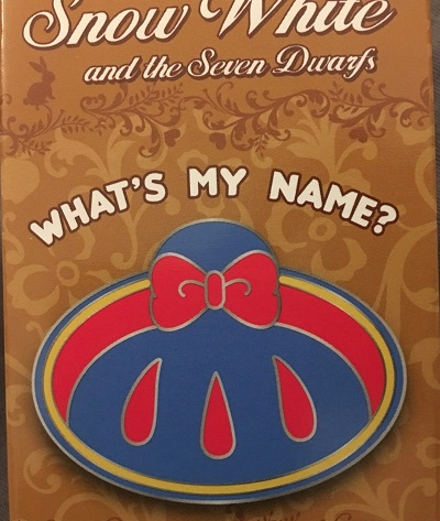 Snow White Cast Member Mystery Pins