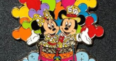 Tokyo Disneyland Resort Parade Pin
