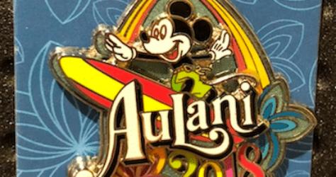 Aulani 2018 Mickey Pin