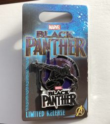 Black Panther LR Pin