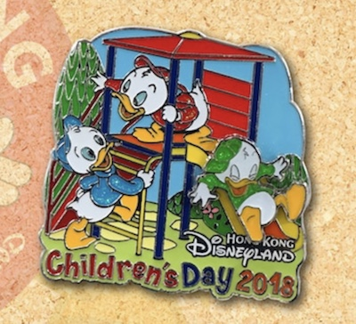 Children's Day 2018 Hong Kong Disney Pin
