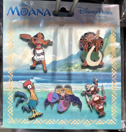 Disney Moana Pin Set