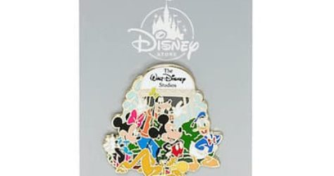 Disney Store UK Water Tower Pin