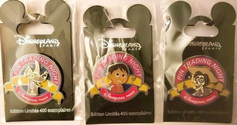 Disneyland Paris Pin Trading Night Coco Pins