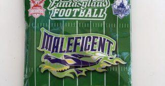 Fantasyland Football Collectible Pin Pack