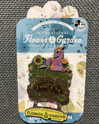 Figment 25 Years Flower & Garden Pin