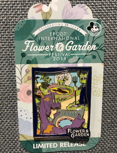 Flower & Garden 2018 Logo Pin