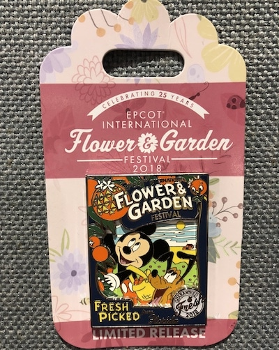 Fresh Picked Flower & Garden 2018 Pin