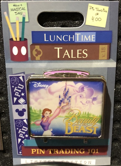 Lunch Time Tales 2018 Beauty and the Beast Pin