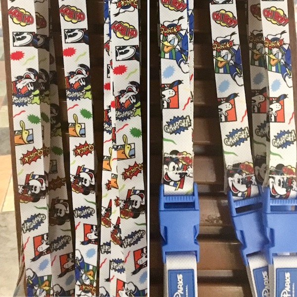 Mickey & Friends Comics Lanyard