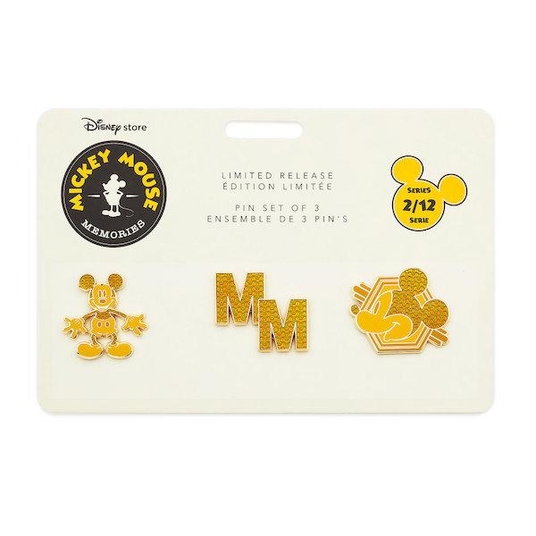 Mickey Mouse Memories Pin Set 2