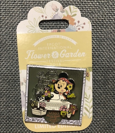 Minnie Mouse Flower & Garden 2018 Pin