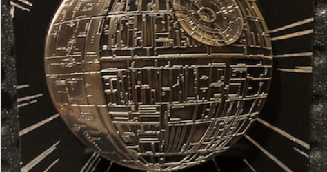 Star Wars Death Star Pin