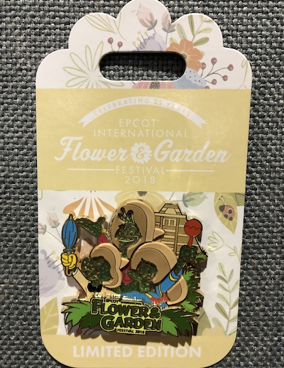 Three Caballeros Flower & Garden 2018 Pin