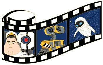 WALL-E Film Strip Pin