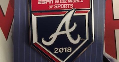 Atlanta Braves 2018 Pin
