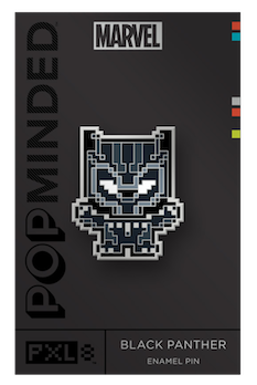 Black Panther Marvel PopMinded Pin