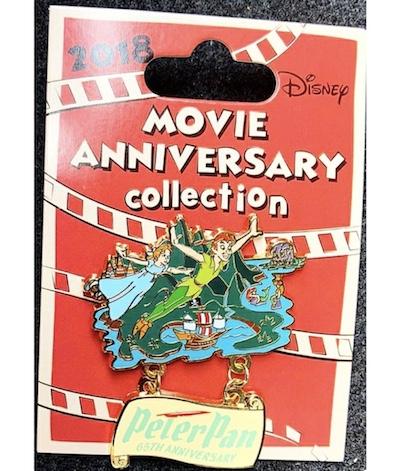 Cast Member Movie Anniversary Peter Pan Pin