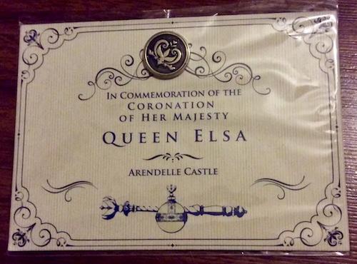 Disney Frozen Musical Coronation Pin