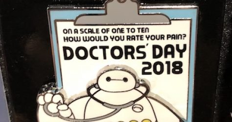 Doctor's Day 2018 Disney Pin