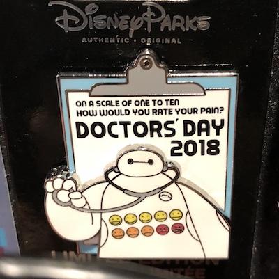 Doctor's Day 2018 Disney Pin