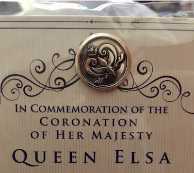 Elsa Coronation Pin