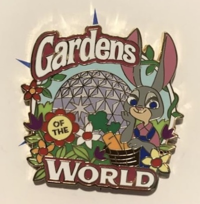 Gardens of the World Tour Pin