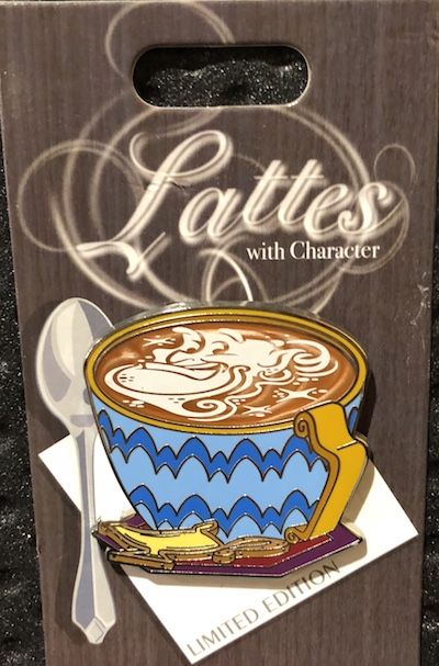 Genie Lattes with Character Pin