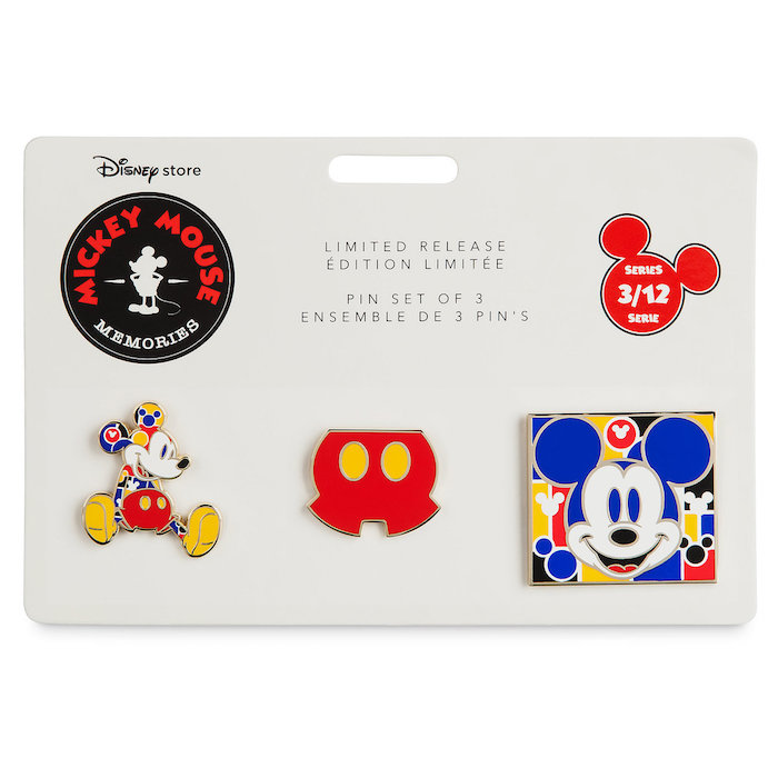 Mickey Mouse Memories Pin Set 3