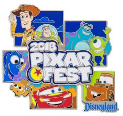 Pixar Fest 2018 Passholder Jumbo Pin