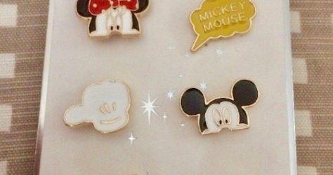 Primark Mickey & Minnie Disney Pin Set