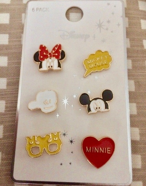 Primark Mickey & Minnie Disney Pin Set