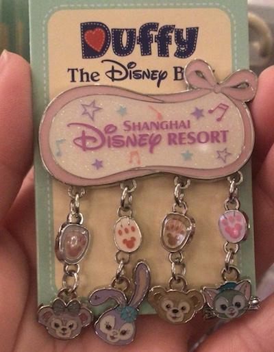 Shanghai Disney Resort Dangle Pin