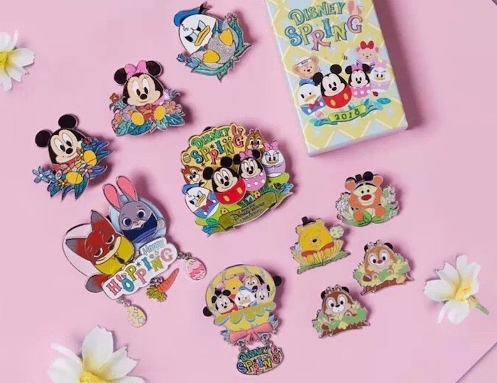 Shanghai Disney Spring 2018 Pins