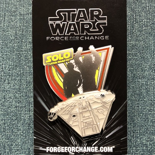 Solo Star Wars Disney Pin