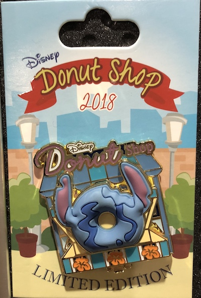 Stitch Donut Shop Pin